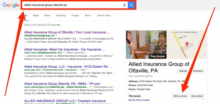 Leave a review for Allied Insurance Group.